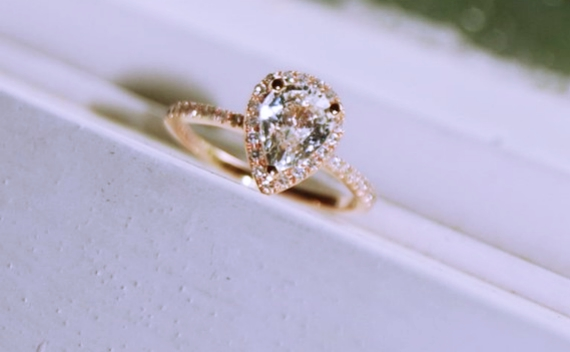 Pear Shaped Rose Gold Engagement Rings 35 Off Sumuduni Gems