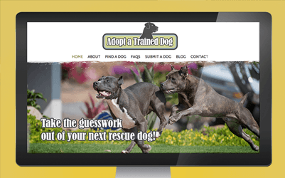 Adopt A Trained Dog Website