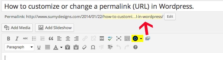 Changing wordpress permalinks