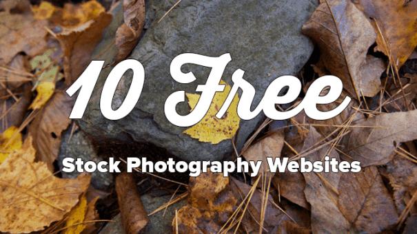 10 free stock photography websites