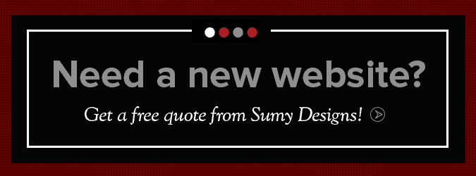 Get A Website Design Quote Button
