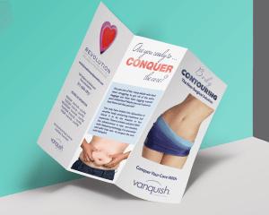 Brochure Design for Revolution Wellness