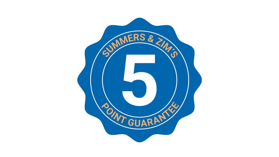 5-Point Guarantee