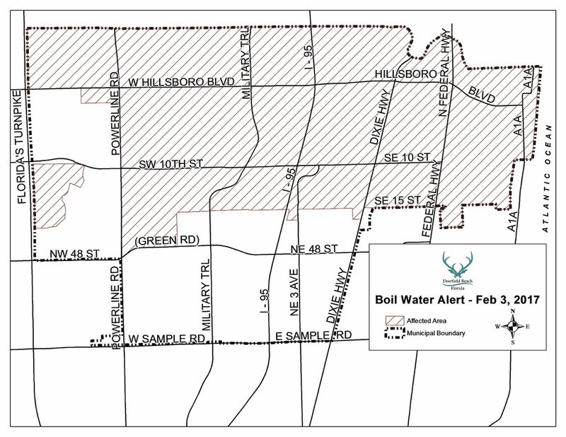 Deerfield water advisory lifted after drinking water tests