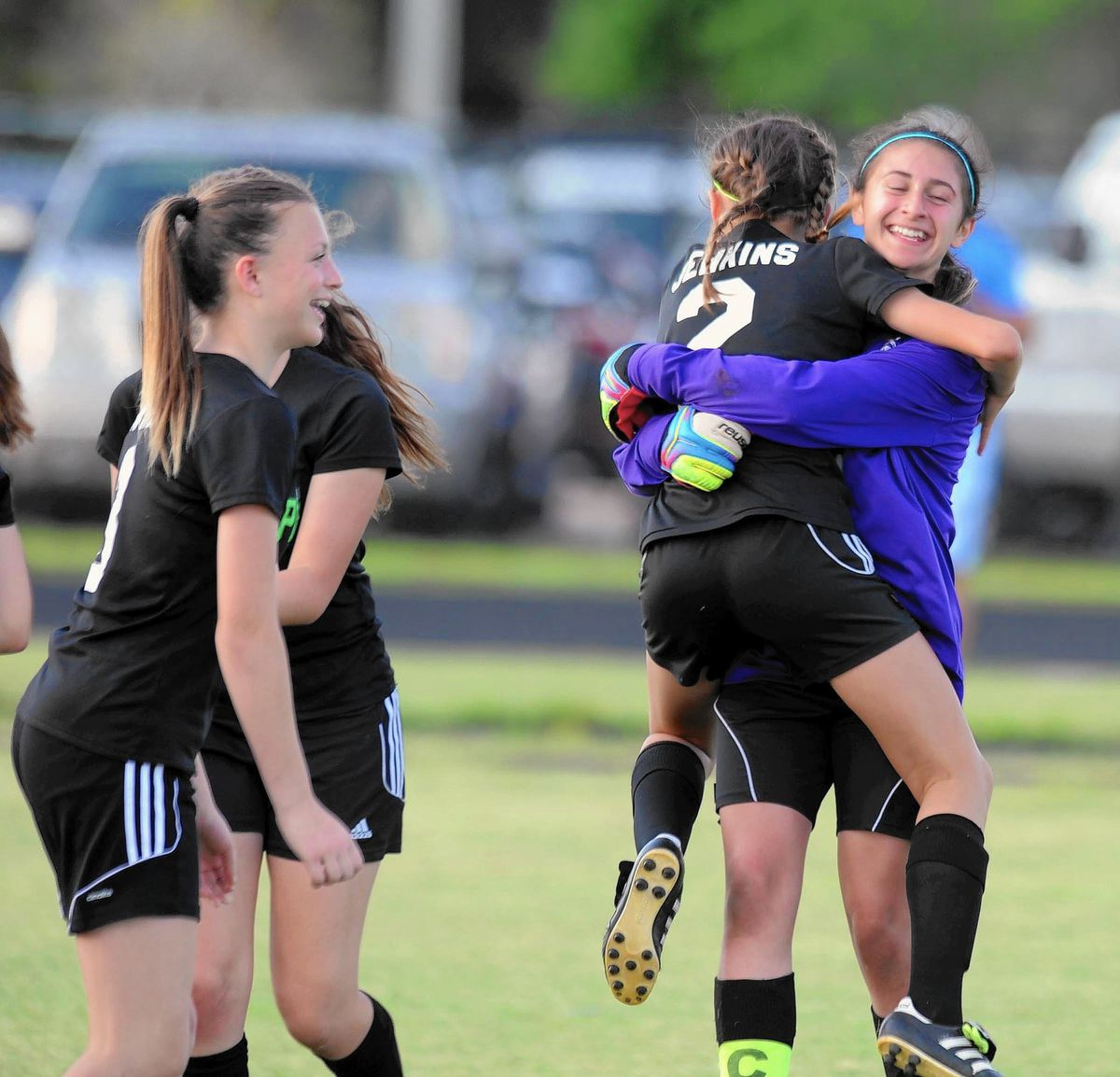 Emerald Cove Girls Soccer Team Wins County Middle School