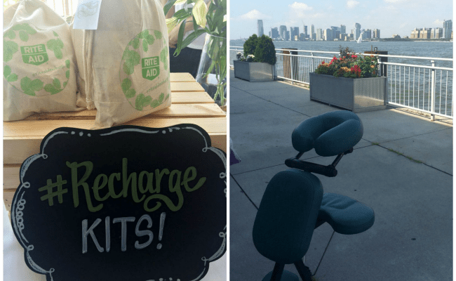 The #RiteAidRecharge Lounge At Blogger Bash: A Much Needed Break For Weary #Bloggers