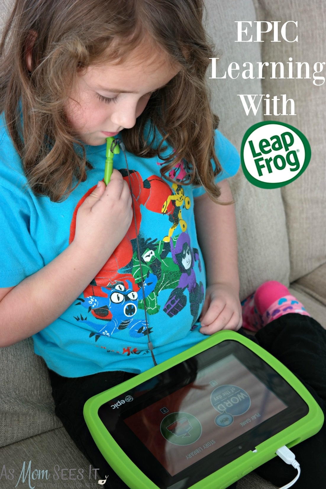 Epic Learning For Young Ones With LeapFrog Epic Tablet #‎LeapFrogEpic