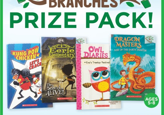 Scholastic Branches book giveaway