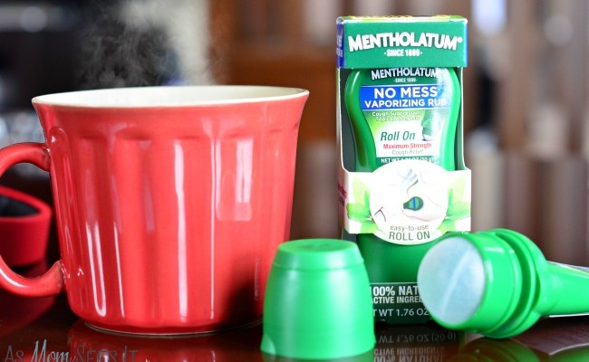 Fighting Cold And Flu Season Naturally: Mentholatum No Mess Vaporizing Rub