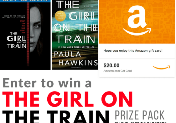 Girl On The Train and Amazon Gift Card Giveaway