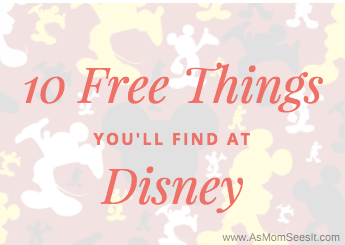 10 free things you can score at Disney World and Disneyland