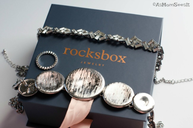 Rocksbox jewelry subscription box April Reveal
