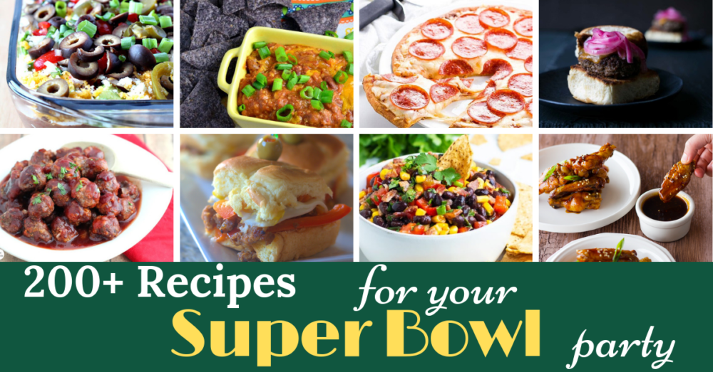Over 200 Super Bowl Snacks And Dips Recipes