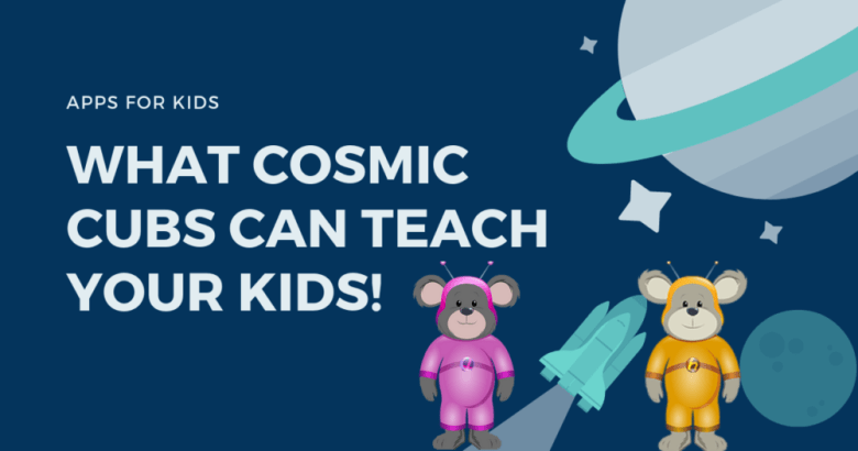 Cosmic Cubs is a collection of kid-friendly apps