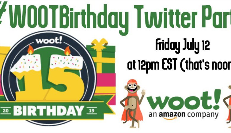 RSVP for #WootBirthday to win prizes!
