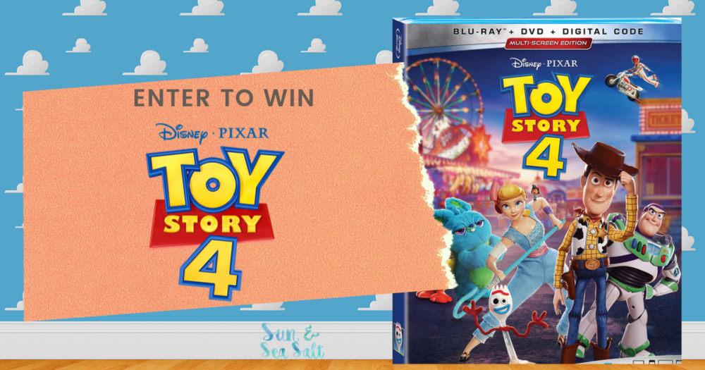 Enter to win Toy Story 4 on Blu-ray!