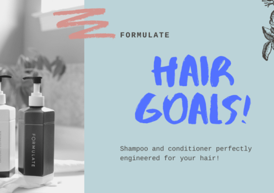 Achieve your hair goals with Formulate!
