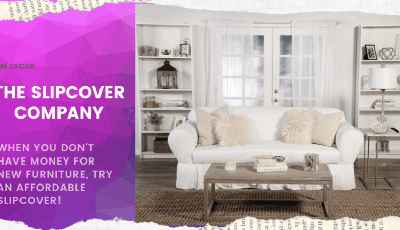 Holiday redecorating with The Slipcover Company