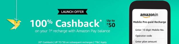 amazon mobile recharge