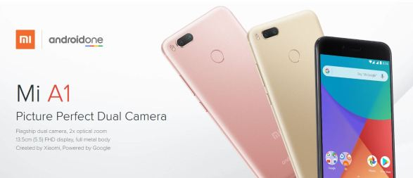 mi a1 android one phone price review India sale
