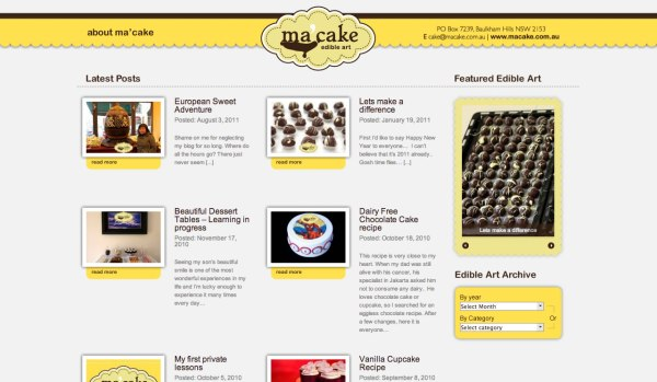 Ma' Cake Blog