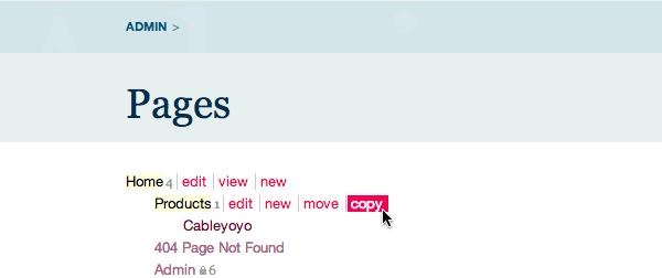 ProcessWire_CopyPage