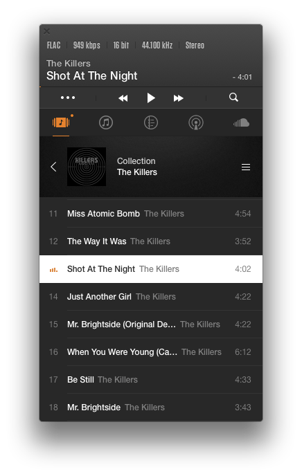 VOX_Music_Player