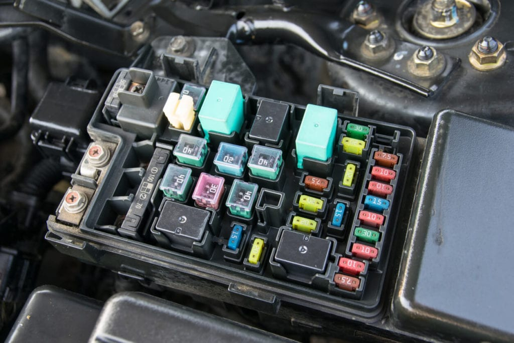 Vehicle Electrical Problems Blown Fuses