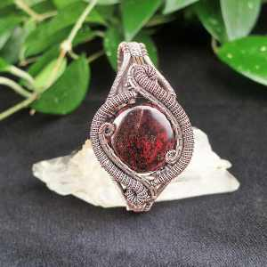 Garnet-Bangle Garnetjewelry Exclusivejewelry