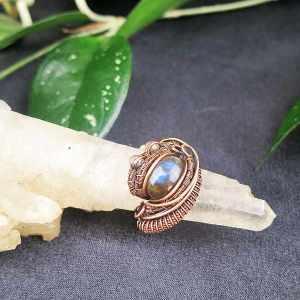 Labradorit-Ring Exklusivschmuck Schmuckdesign