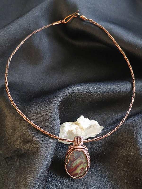 Mossagate-Pendant Jewelrydesign SunayLaLuna
