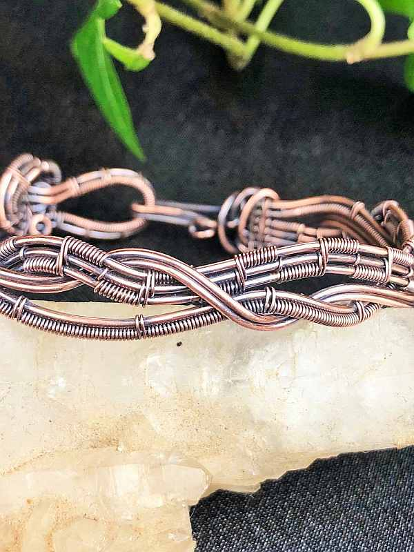 Bracelet Copperwire Wirejewelry sunaylaluna