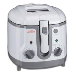 Kitchen Fryer Shelving Ideas Sunbeam 1 5l Adjustable Temperature Deep Bvsbdf154w 033