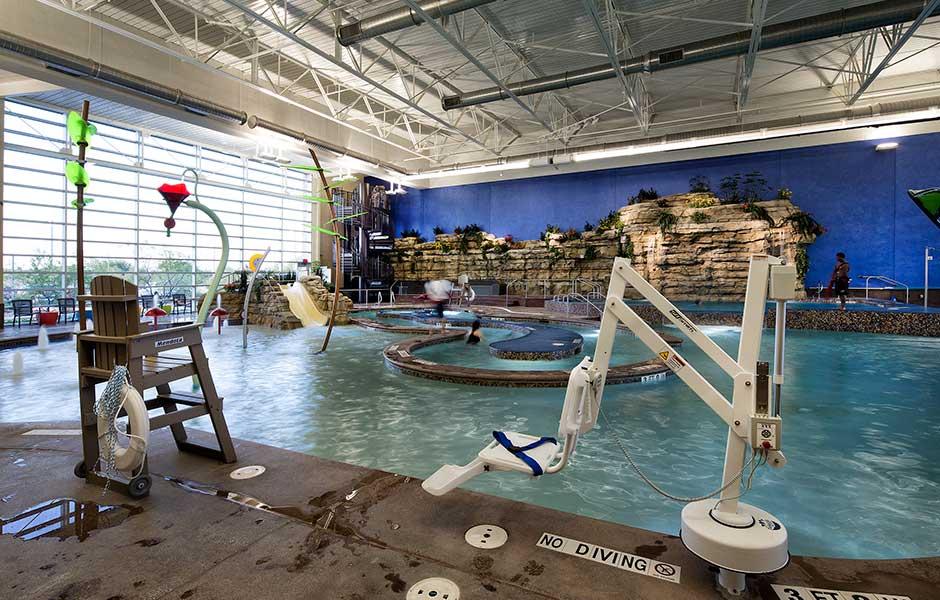 North Richland Hills Recreation Center  Sunbelt Pools