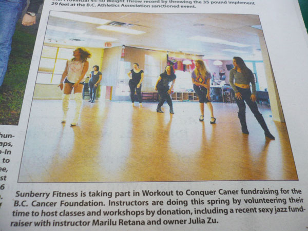 Burlesque to Conquer Cancer in the News!