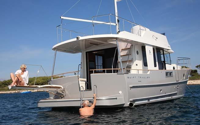 Beneteau Swift Trawler 44 Motorboat For Sale At Sunbird Yacht Sales