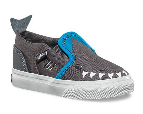 Vans Boys Shark Shoes Thoughtful Gifts Sunburst