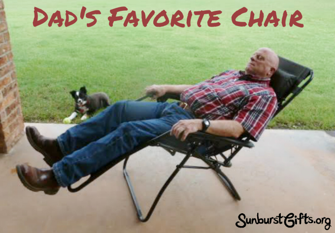 Zero Gravity Patio Lounge Chair for Dad  Thoughtful Gifts