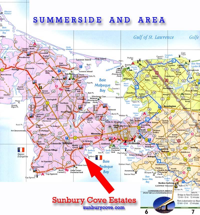 Prince Edward Island Waterfront Sunbury Cove Estates Properties