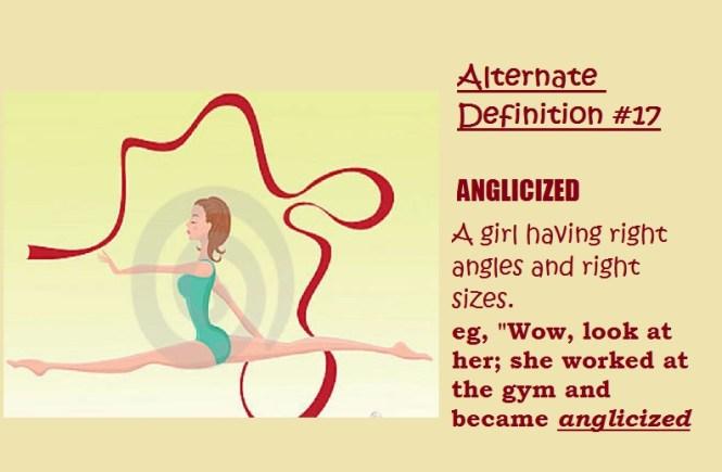 Anglicized