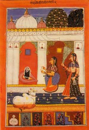 Ragmala Painting of Rag Bhairavi (circa A.D. 1725) (Pic courtesy: chandrakantha.com)