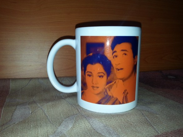A commemorative mug made on the occasion of the first Meet of the group Yaad Kiya Dil Ne in Mumbai on Sunday, 01 Nov 15