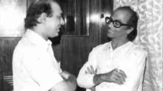 Talat Mahmood and Salil Chowdhury