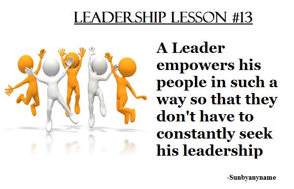 Leadership #13