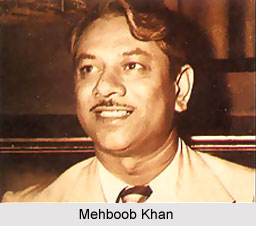 (Producer-Director Mehboob Khan who made such movies as Mother India, Son Of India, Andaz, Anmol Ghadi, Aan, Amar, and Roti. (Pic courtesy: www.indianetzone.com)