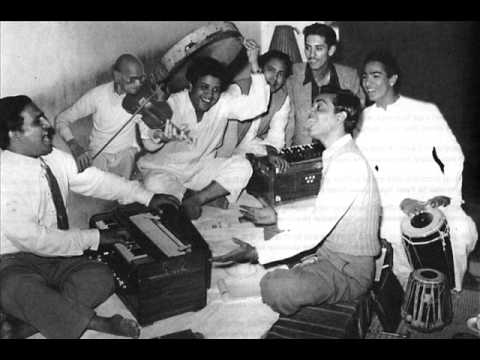 The image that one would want to remember Shailendra by: Centrestage with Shankar Jaikishan