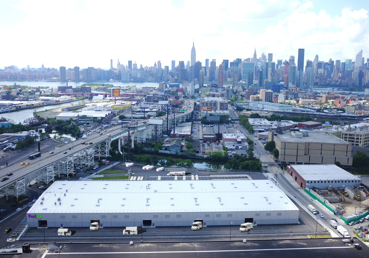 Featured Projects  Distribution Center  Queens NY  SunCap Property Group Charlotte NC