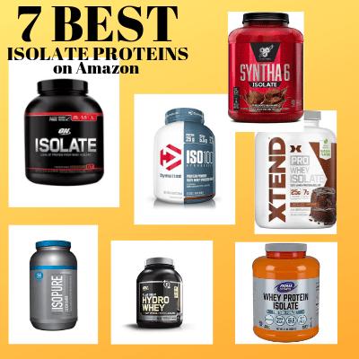 7 Best Tasting Isolate Protein Powders on Amazon