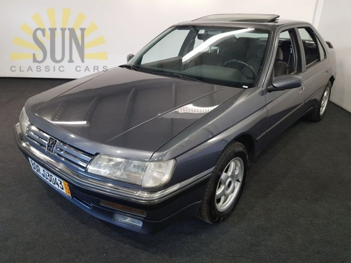 Peugeot 605 Sr 1990 For Sale At Sun Classic Cars