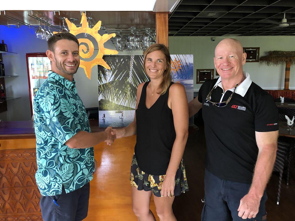 965029f012 Suncoast Ocean Swim 19, Fiji's newest event, launched • Suncoast Fiji